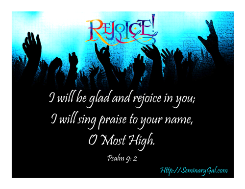 rejoice in your holy name