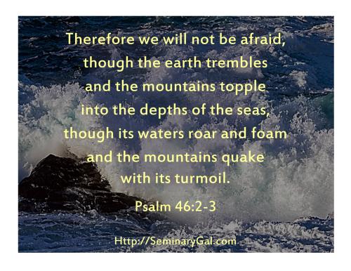 No Fear of Turmoil