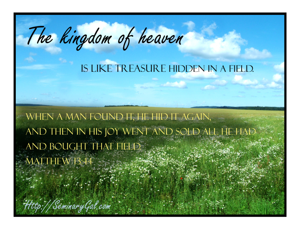 kingdom of heaven is like treasure