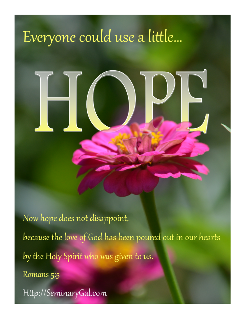 everyone could use a little hope