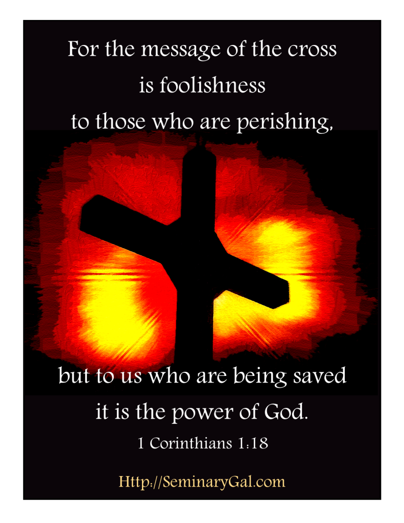 power enough is the message of the cross
