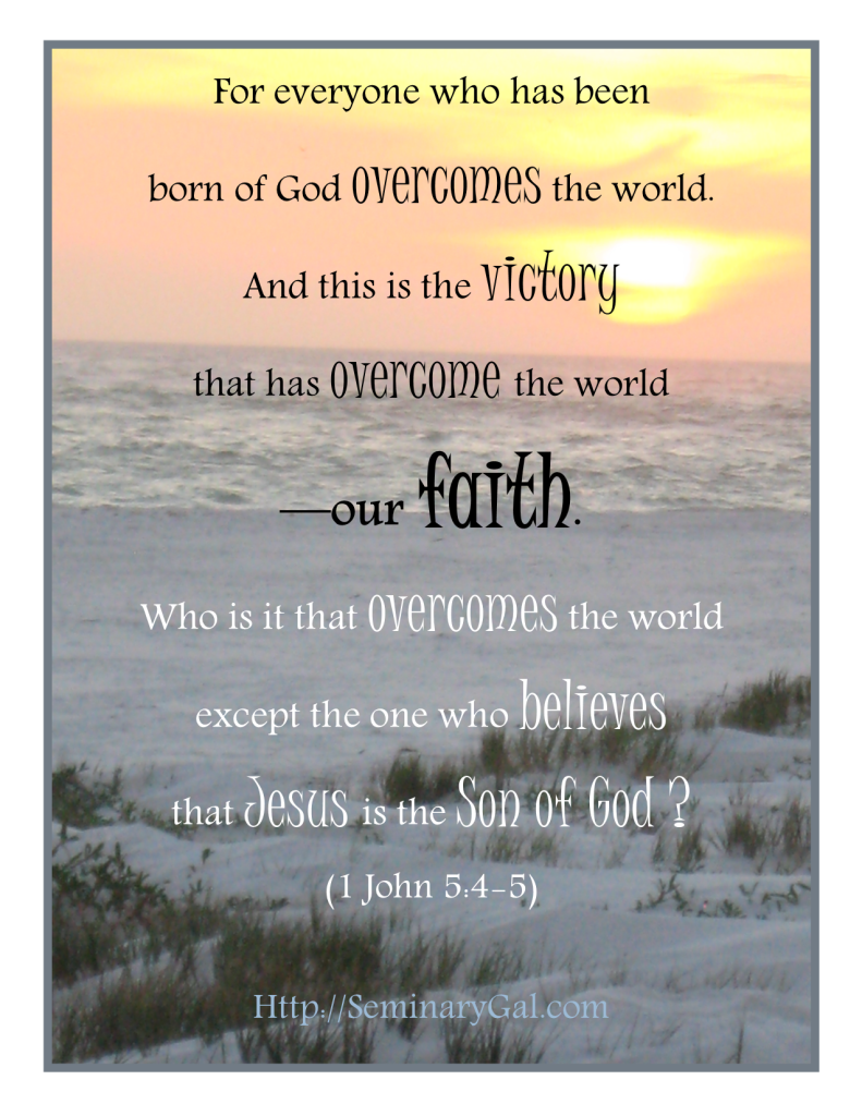 overcomes and victory