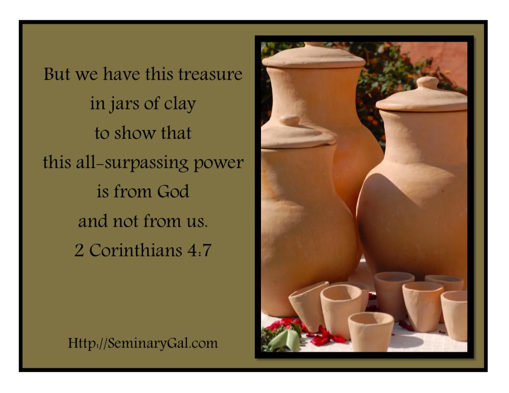 treasure in jars