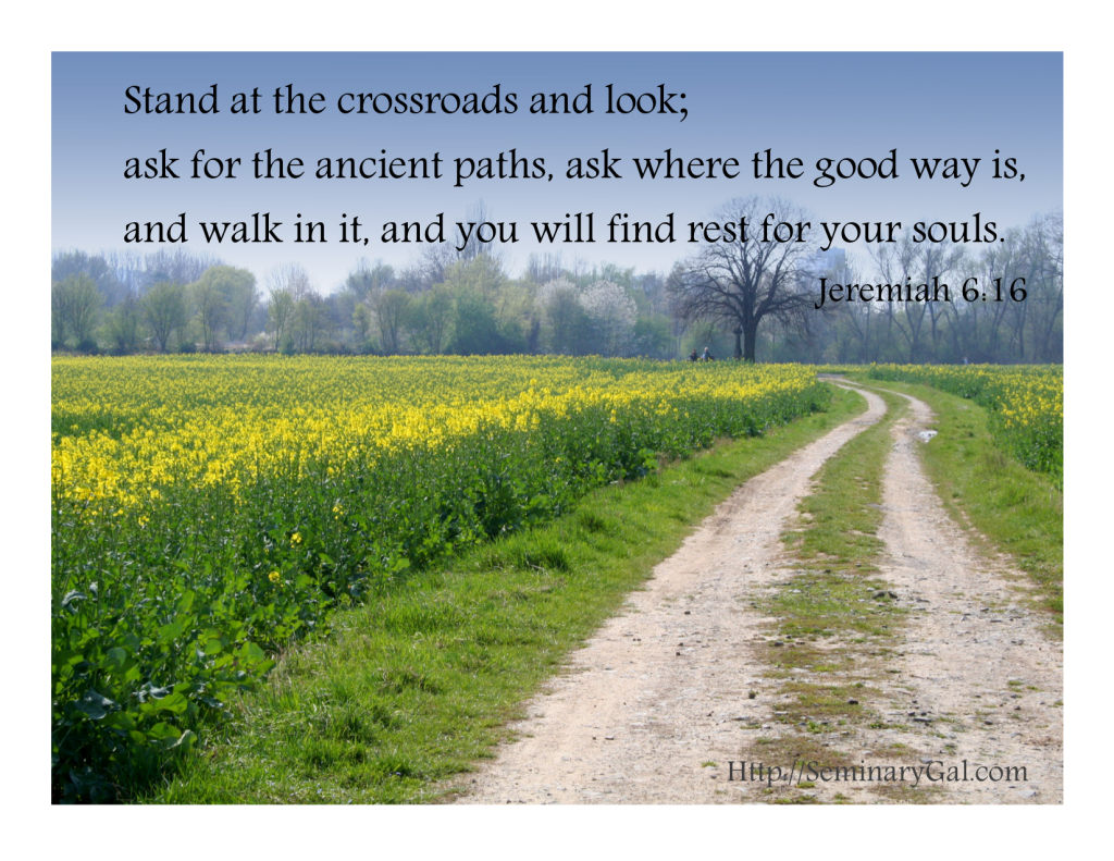 stand at the crossroads