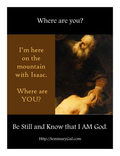 SGL 2014 Abraham and Isaac
