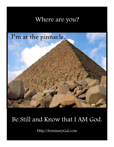 Where are you Joseph pinnacle