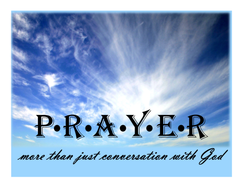 Prayer more than just conversation
