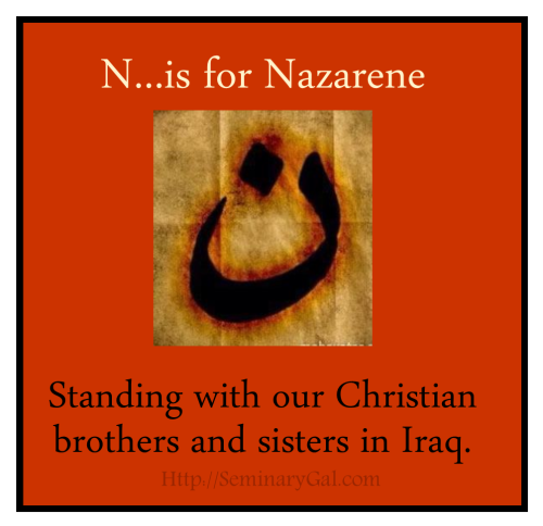 n is for nazarene