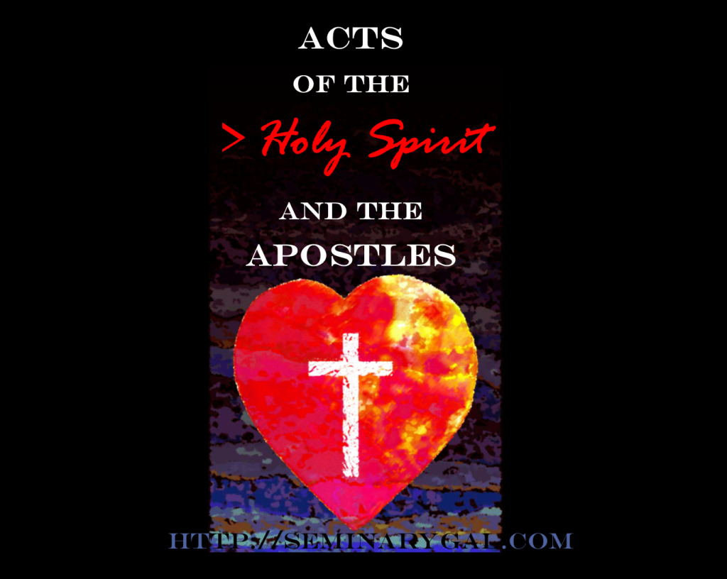 Acts of the Holy Spirit and ApostlesSG