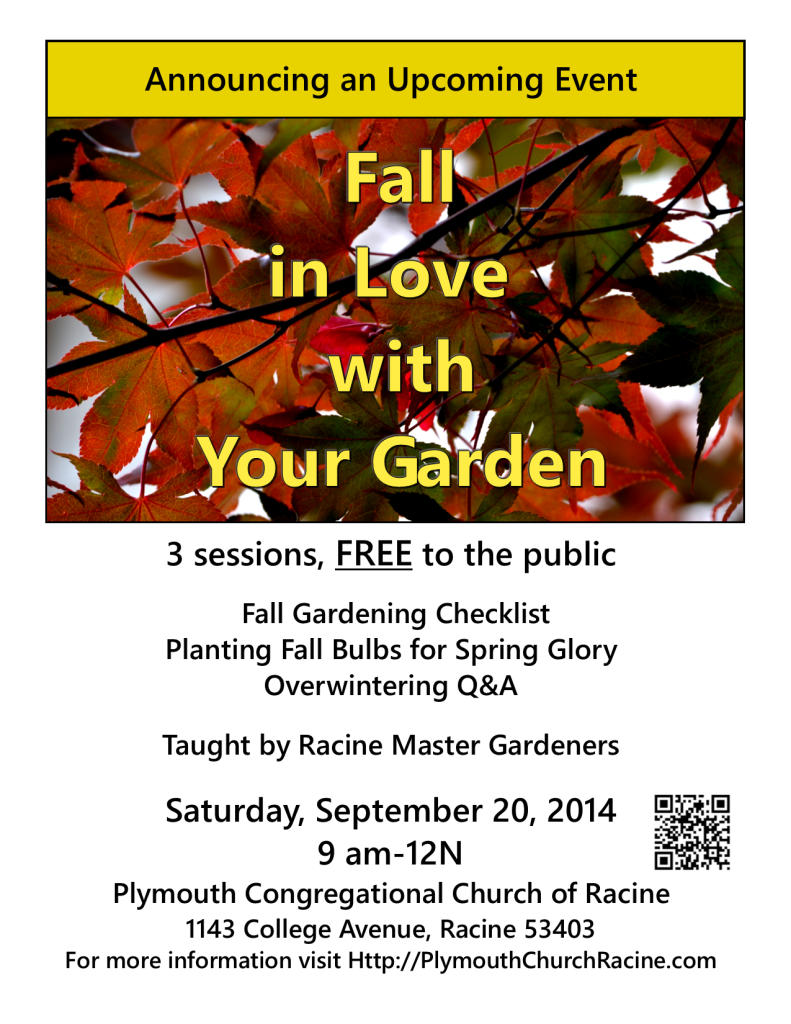 fall in love with your garden poster png