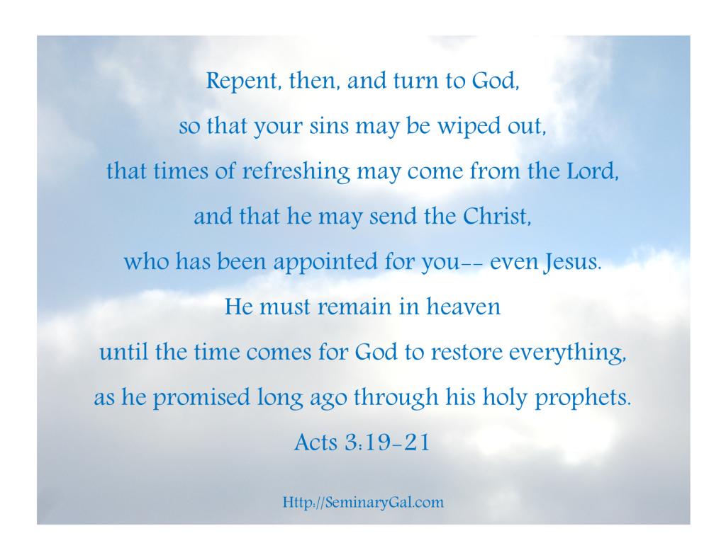 must remain in heaven