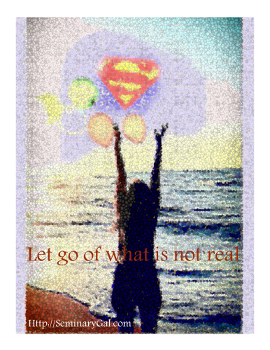 let go of superwoman