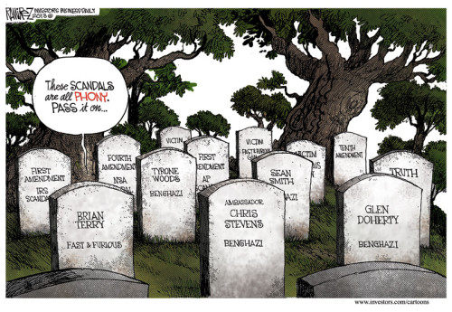 phony scandal