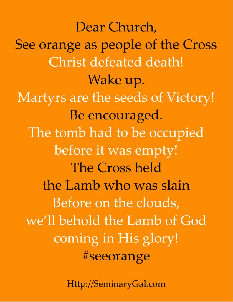 see orange