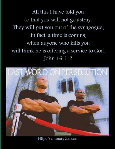 on persecution