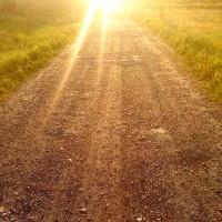 road sun
