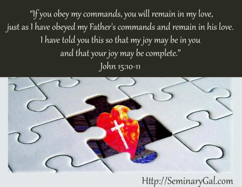 Joy Complete John 15:10-11