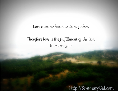 Debt to Love One Another