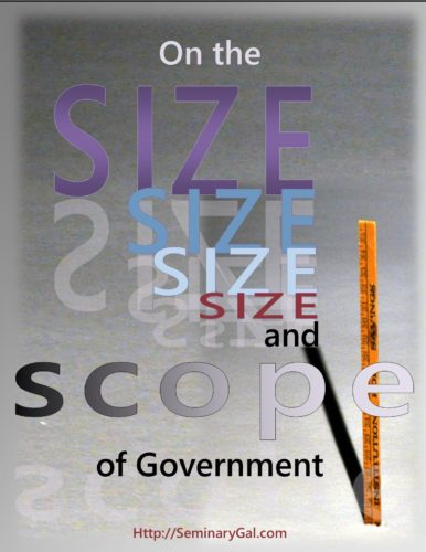 size and scope of government