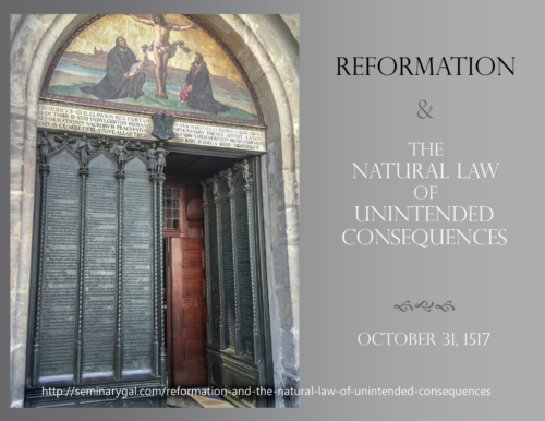 the unintended reformation In a work as much about the present as the past, gregory identifies the unintended consequences of the reformation for the modern condition: a hyperpluralism of.